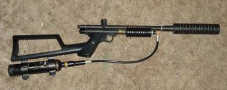 Пневмо ружье в домашних условиях